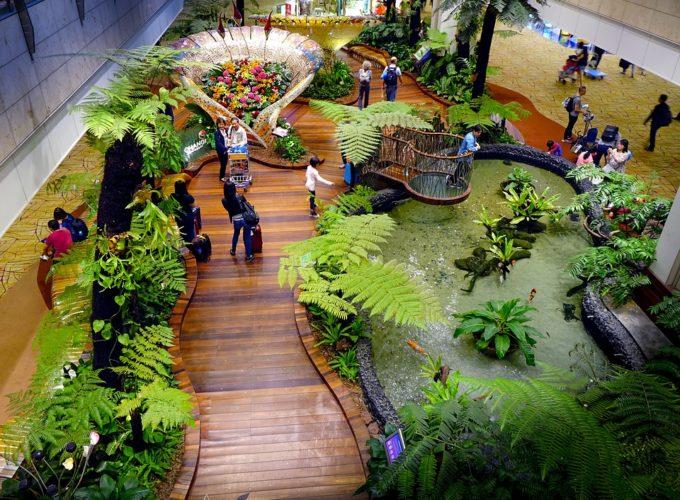 Letiště Changi jako nejlepší letiště světa. Co nás zde čeká?